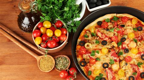 cuisine pizza food wallpaper pixshark com images