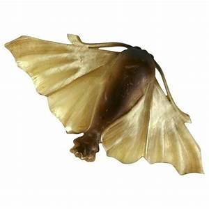 French Art Nouveau Naturalistic Papillon De Nuit Brooch