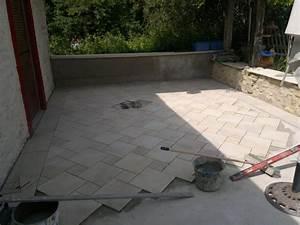 carreler une terrasse With comment carreler une terrasse exterieure