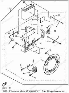 Yamaha Snowmobile 1998 Oem Parts Diagram For Alternate