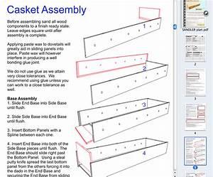 The Sandler – All-Wood Casket Kit Plan – Build Caskets