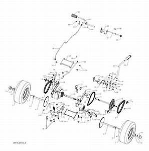 Mcculloch M9566x  96021002201  Ride On Mower Spares