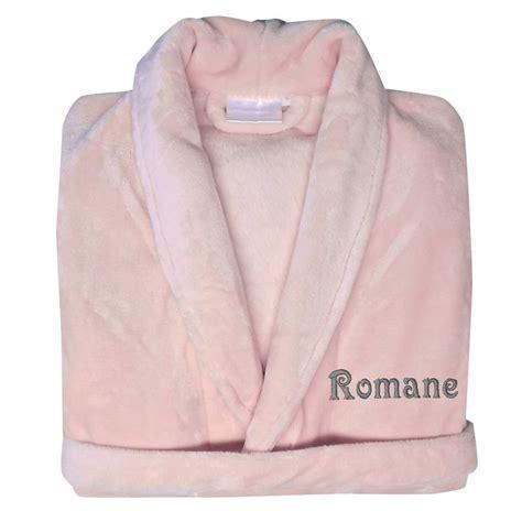robe de chambre bébé fille robe de chambre polaire brodée une idée de cadeau