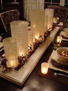 candle centerpieces for dining room table 1000 images about home decor ideas on