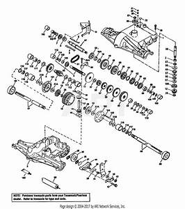 Troy Bilt 13053 15hp Gear Drive Garden Tractor  S  N 130530100101  Parts Diagram For Transmission