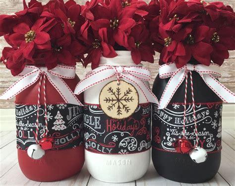 christmas mason jars ideas  pinterest