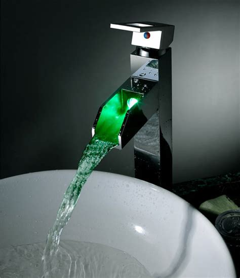 contemporary color changing led waterall bathroom sink tap t8005 5h t8005 5h 163 109 99