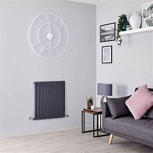 Hudson Reed Heizkörper : design heizk rper horizontal einlagig anthrazit 635mm x ~ Watch28wear.com Haus und Dekorationen