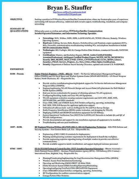 resume career change summary tech resume template