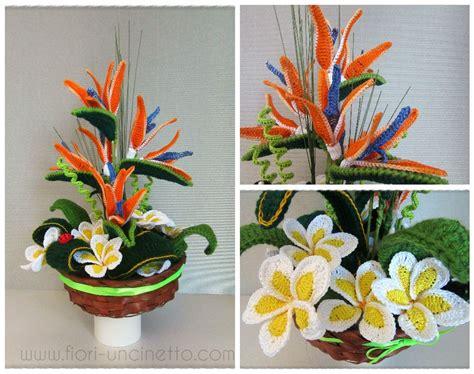 composizioni fiori uncinetto fiori all uncinetto crochet flowers www fiori uncinetto