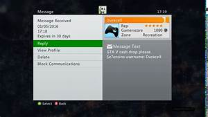 Xbox 360 CJMods GTA V Cash Drop Lobby FREE