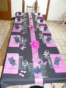 Décoration De Table Anniversaire : deco table anniversaire 18 ans recherche google anniv ~ Melissatoandfro.com Idées de Décoration