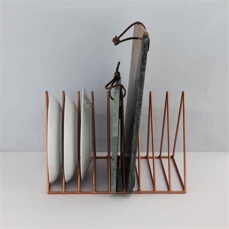 copper  brass magazine plate rack  posh totty designs interiors notonthehighstreetcom
