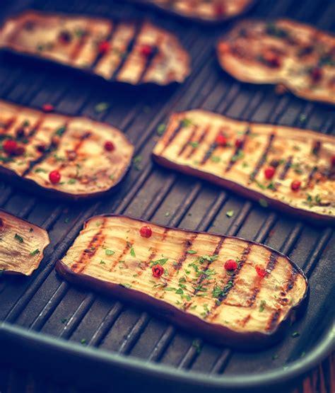 cuisine barbecue aubergines grillées recettes de cuisine marciatack fr