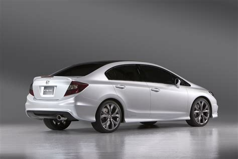 Boulgom Si E Auto Usa Honda Civic Si Coupé Sedan Concept Foto Ufficiali