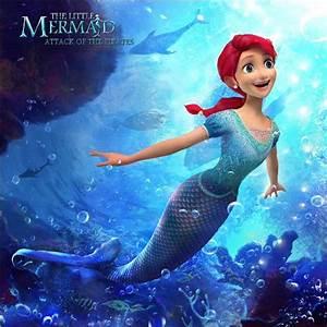 8x8ft Fish Underwater Sea Coral Reef Ariel Princess Little