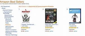 U0026 39 I  Maybot U0026 39  Tops Amazon Best Seller Chart For Robotics