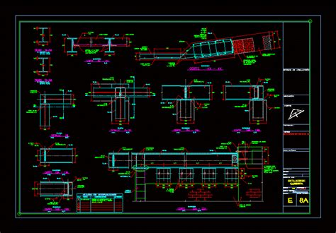 structural details roofing  autocad cad  mb