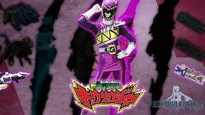 Kyoryu Violet (Yayoi ver) Wallpaper by UnknownChaser on ...
