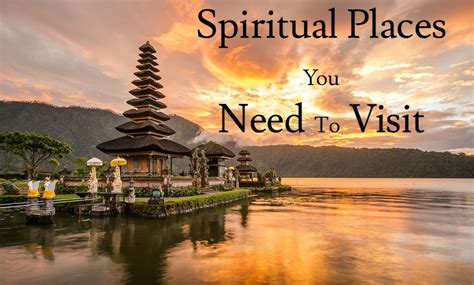 travel for spiritual enlightenment a search for peace of