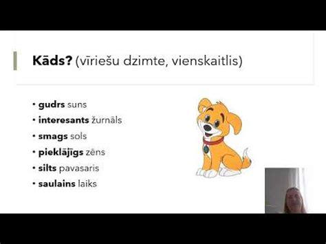 Īpašības vārds - YouTube