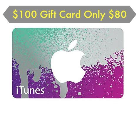 staples 80 for 100 itunes gift card