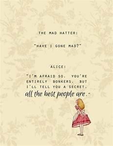 Top Alice In Wonderland Quotes. QuotesGram