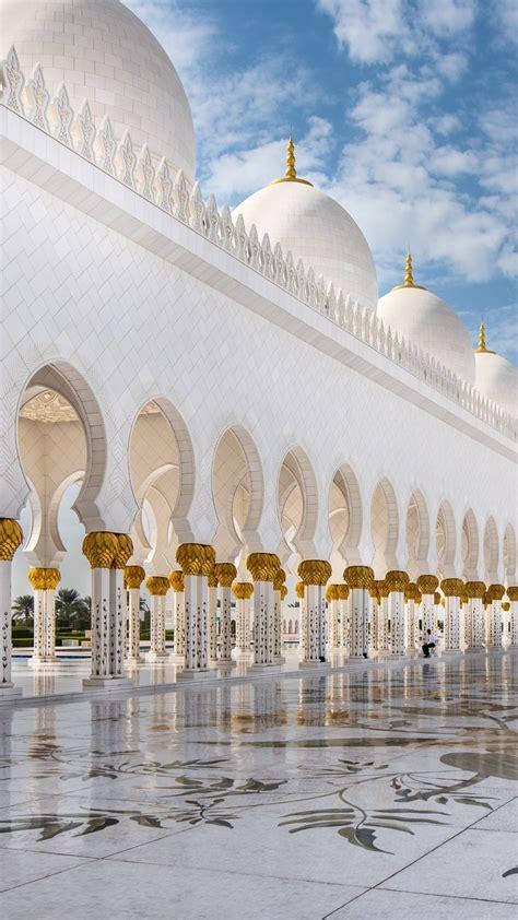 wallpaper sheikh zayed mosque abu dhabi  architecture