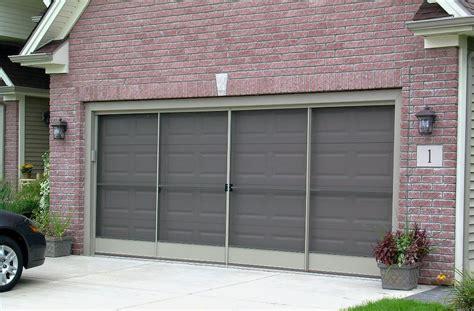 garage door screen sliding garage door screens from killian s of palm coast fl