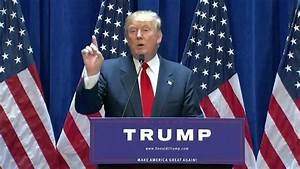 Highlights From Donald Trump39s Campaign Announcement