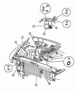 2000 Dodge Ram 3500 Condenser  Air Conditioning  Plumbing