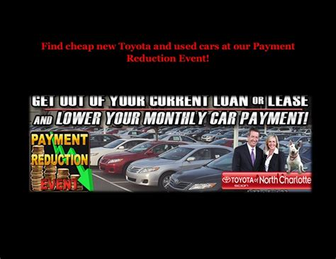 Find Cheap New Toyota And Used Cars At Our Payment