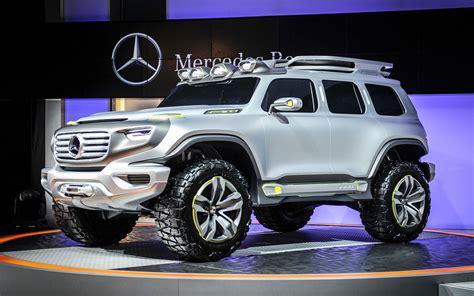 Mercedes Unveils Ener-g-force