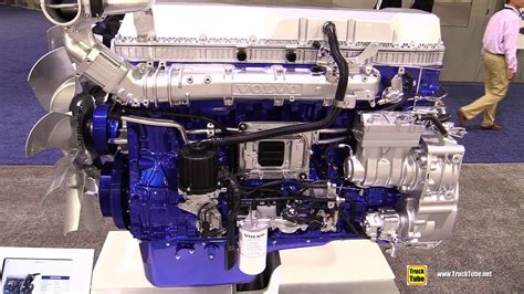 volvo  turbo compound diesel engine walkaround