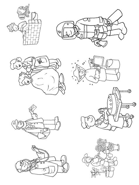kids  funcom  coloring pages  professions