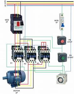 Wiring Diagram For Star Delta Contactor