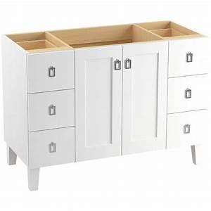 KOHLER Poplin 48 In Vanity Cabinet In Linen White K 99535