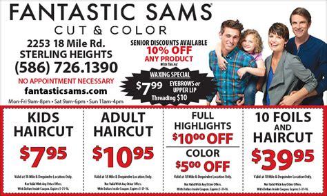 fantastic sams coupons 2018 printable coupons coupon