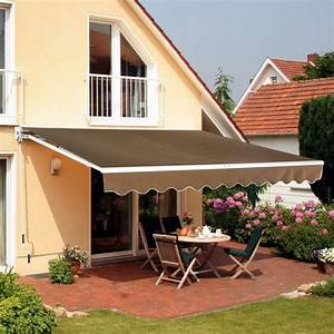 13 Ft  W X 8 Ft  D Fabric Retractable Standard Patio