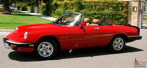 Alfa Romeo 1986 by 1986 Alfa Romeo Spider At Carolbly