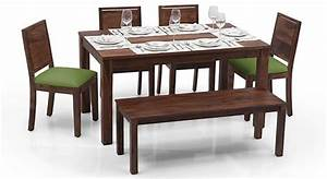 Arabia - Oribi 6 Seater Dining Table Set (With Bench