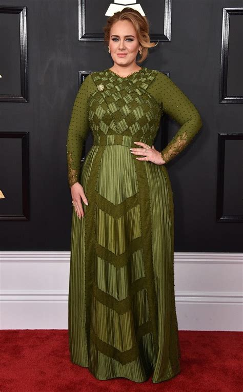 Adele from Grammys 2017 Red Carpet Arrivals | Red carpet ...
