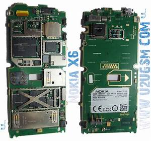 Nokia X6 Full Pcb Diagram Mother Board