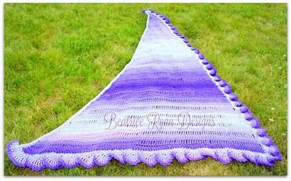 Purple Shawl Crochet Pattern Fades Beatriceryandesigns Congratulations