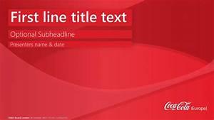 coca cola europe template powerpoint designers london With coca cola powerpoint template