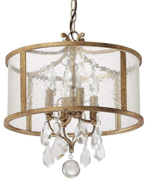 vintage modern gold mini chandelier