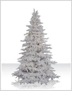 christmas tree market flocked white spruce artificial christmas trees