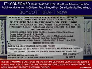 ILLEGAL GMO Wheat in Kraft Mac N Cheese?? - Foster City ...