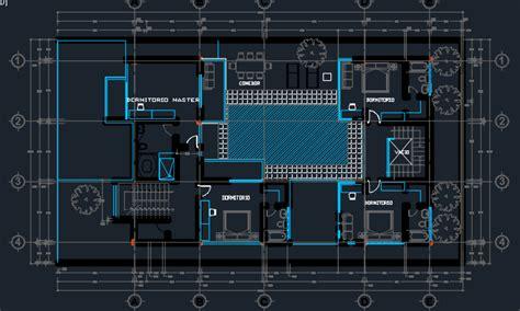 beach house  pool  floor plans  dwg design section  autocad designs cad