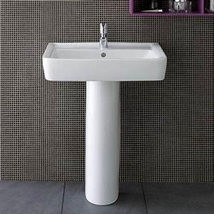 lavabo sur colonne espace aubade With salle de bain design avec lavabo sur colonne